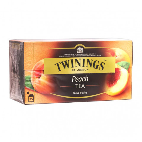 トワイニング ティーバッグ ピーチ紅茶 25袋