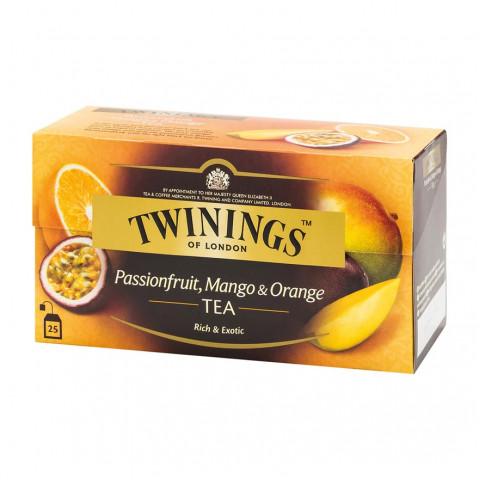 唐寧 茶包 熱情果芒果橙紅茶 25包