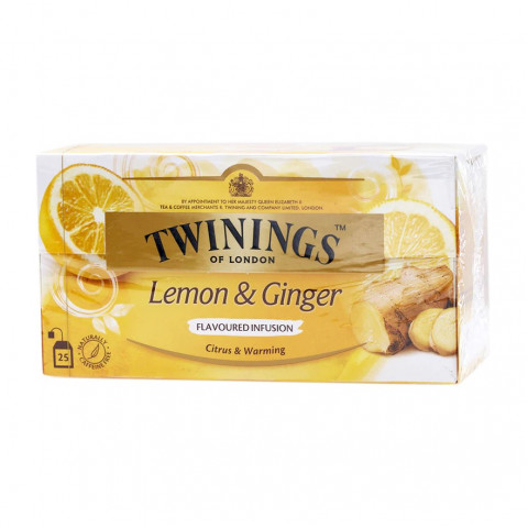 Twinings Lemon & Ginger 25 teabags