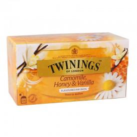 唐寧 茶包 洋甘菊蜜糖雲呢拿花草茶 25包