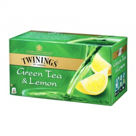 Twinings Green Tea & Lemon 25 teabags