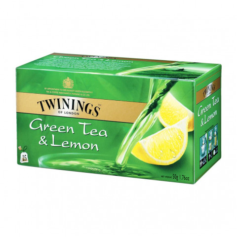 唐寧 茶包 檸檬綠茶 25包