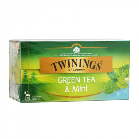 Twinings Green Tea & Mint 25 teabags