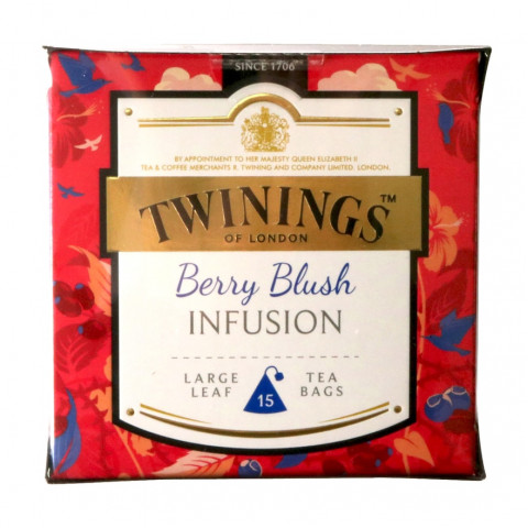 Twinings Large-Leaf Tea Bag Berry Blush Infusion 15 teabags