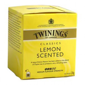 Twinings Lemon Scented Tea 10 teabags