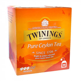Twinings Ceylon Orange Pekoe Tea 10 teabags