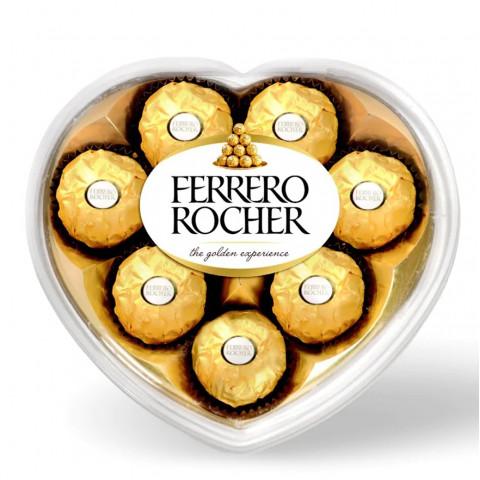 費列羅 金莎 巧克力 心形禮盒 8粒