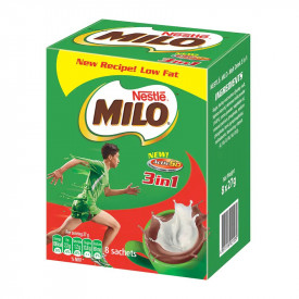Milo 3 in 1 Nutritious Malt Drink 27g x 8