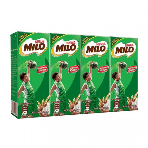 Milo Nutritious Malt Drink Multipack 180ml x 4 packs