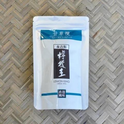 檸檬王 甘草欖(ガムツォーラム) 100g