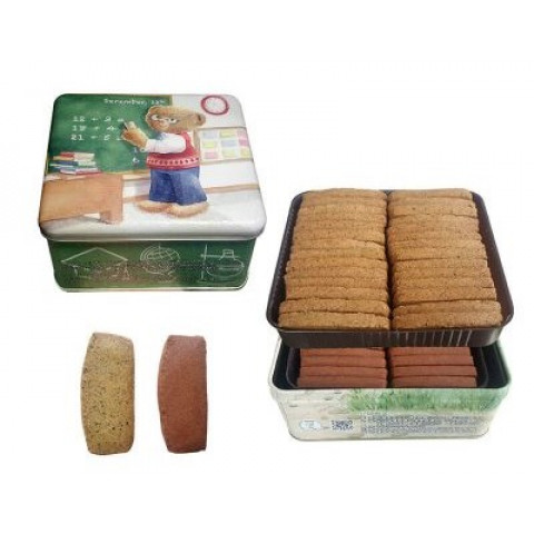 珍妮曲奇(ジェニー・ベーカリー) バタークッキー カフェモカ&紅茶風味 460g