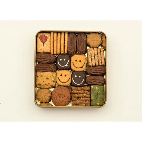 Cookies Quartet Assorted Cookies 11 Flavour 500g