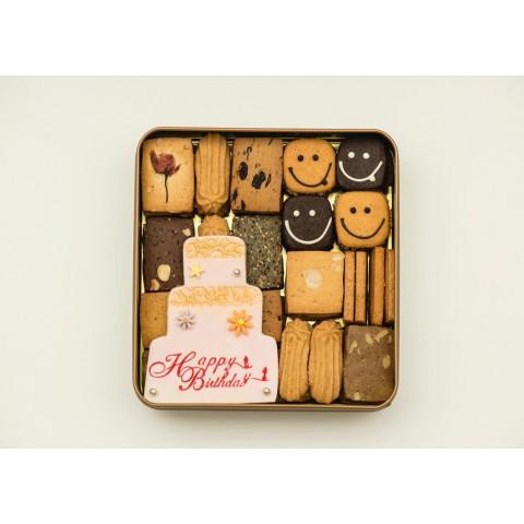 Cookies Quartet Birthday Cookies 500g