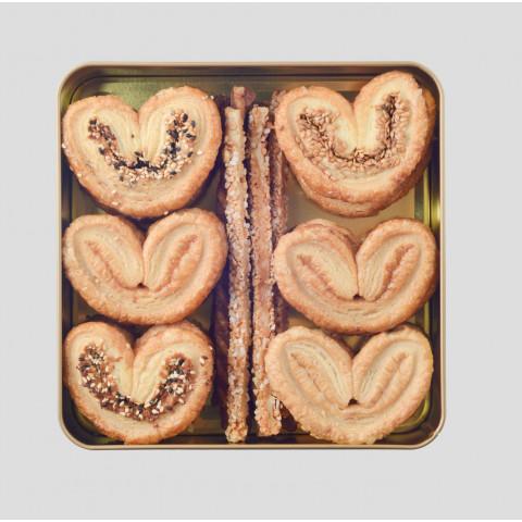Cookies Quartet Assorted Palmier 250g