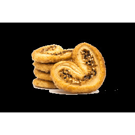 Cookies Quartet Shredded Coconut & Sesame Palmier 100g