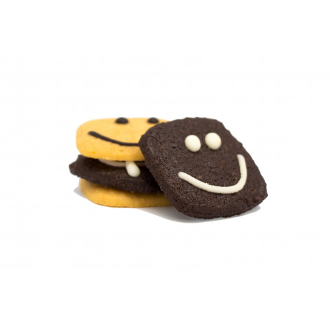 Cookies Quartet Devil Chocolate Cookies 100g