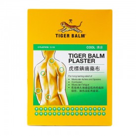 Tiger Balm Plaster Cool Small Size(10cm x 7cm) 3 pieces