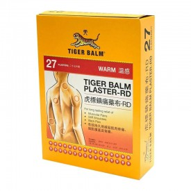 Tiger Balm Plaster Warm Large Size(10cm x 14cm) 27 pieces