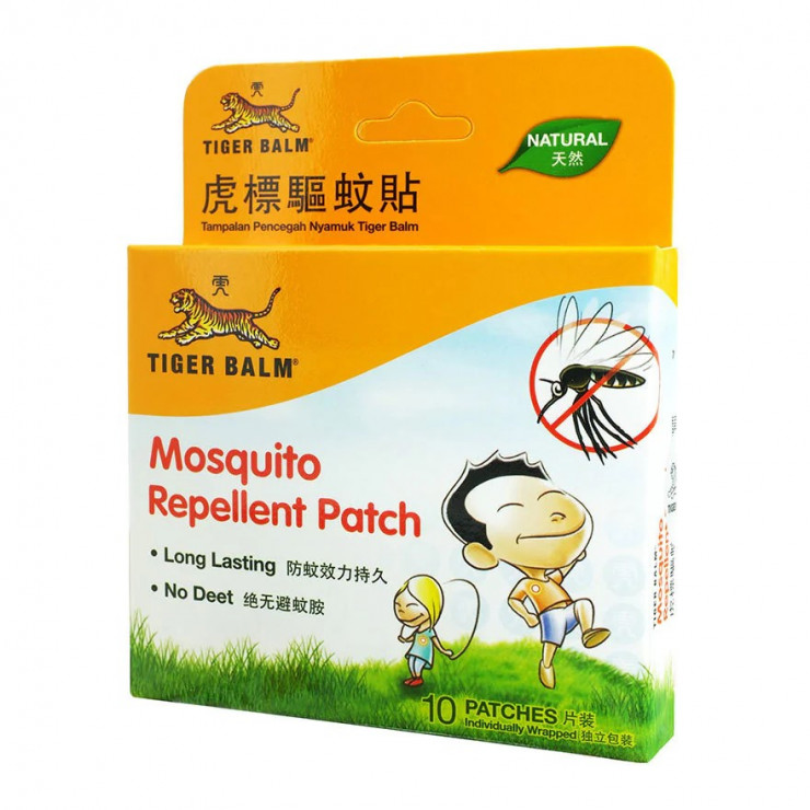 Tiger Balm Mosquito Repellent Patch 10 Pieces Hong Kong