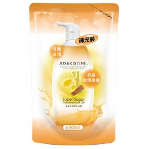 Choi Fung Hong Joseristine Super Sugar Moisture Shower Gel Refill 900ml