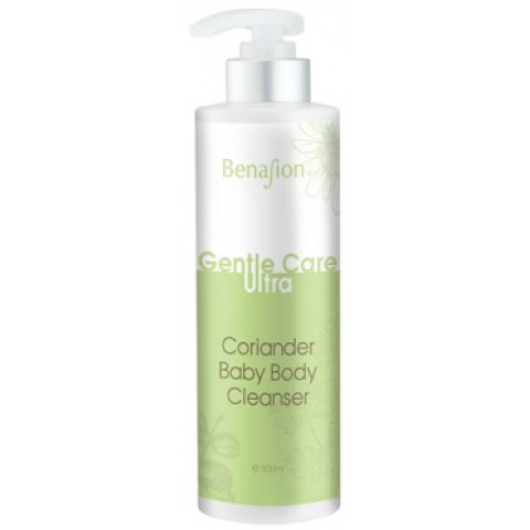 Choi Fung Hong Benafion Gentle Care Ultra Coriander Baby Body Cleanser 500ml