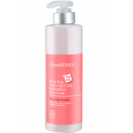 Choi Fung Hong JimmBenny Peach & Shea Butter Shampoo 500ml