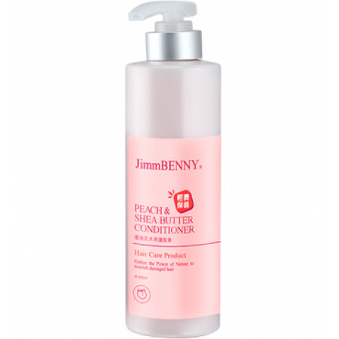 Choi Fung Hong JimmBenny Peach & Shea Butter Conditioner 500ml