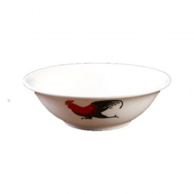 Chicken Pattern Bowl 6.5 inches