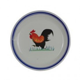 Chicken Pattern Plate 10.5 inches