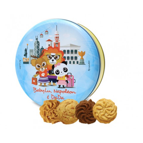 Lucullus Butter Cookie Gift Tin 20 pieces