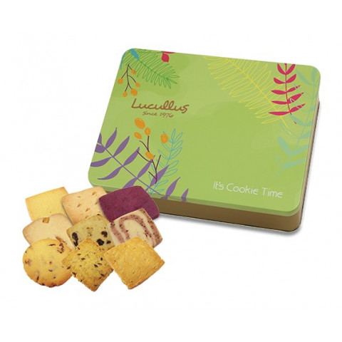 Lucullus Assorted Butter Cookie Gift Tin 33 pieces