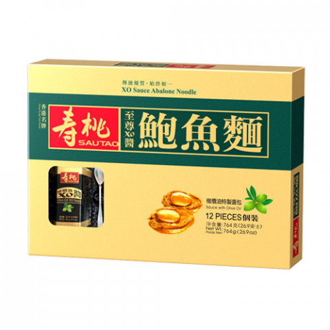Sau Tao XO Sauce Abalone Noodles 12 pieces Gift Box