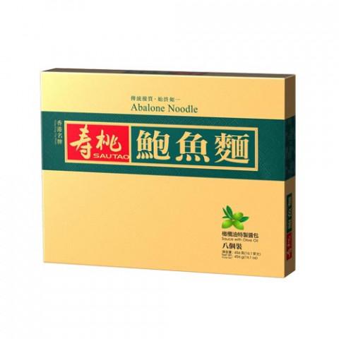壽桃牌 鮑魚麵禮盒 8個裝