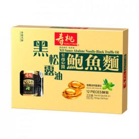 寿桃牌 黒トリュフ&オリーブ油XO醤アワビ麺 12玉入り