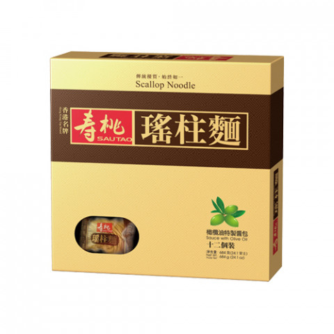 Sau Tao Scallop Noodle 12 pieces Gift Box