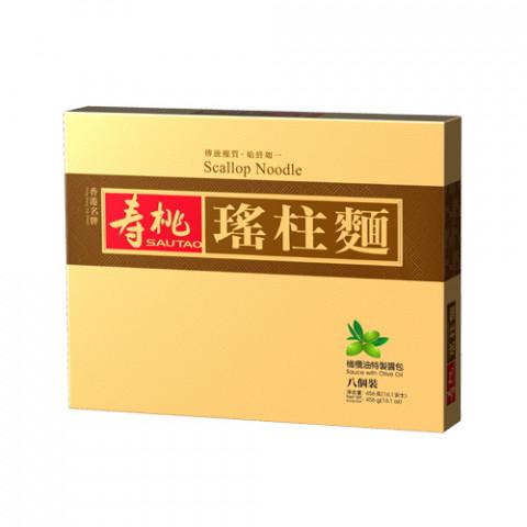 壽桃牌 瑤柱麵禮盒 8個裝