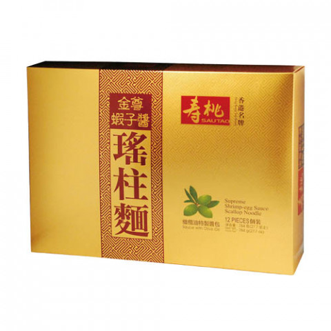 Sau Tao Supreme Shrimp-egg Sauce Scallop Noodle 12 pieces Gift Box