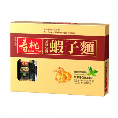 Sau Tao XO Sauce Shrimp-Eggs Noodle 12 pieces Gift Box