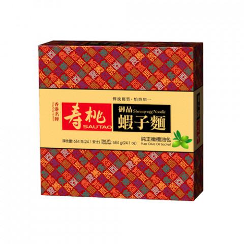 壽桃牌 御品蝦子麵禮盒 12個裝