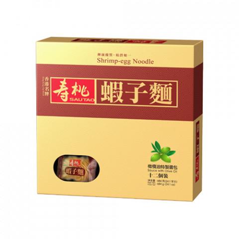 Sau Tao Shrimp-Eggs Noodle 12 pieces Gift Box