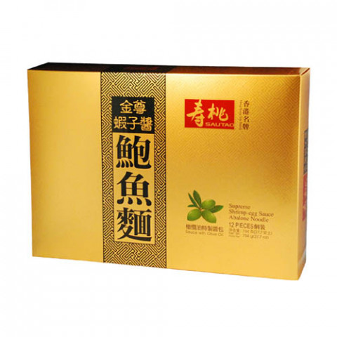 Sau Tao Supreme Shrimp-egg Sauce Abalone Noodle 12 pieces Gift Box