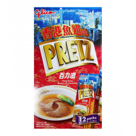Glico Pretz Biscuit Stick Shark's Fin Flavour 12 packs
