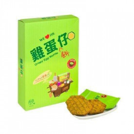 OkashiLand Hong Kong Délices Crispy Egg Waffle Green Tea Flavour 12 pieces