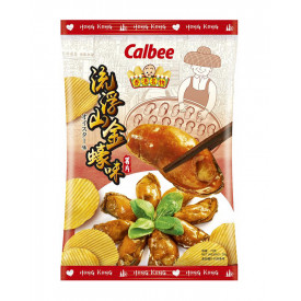 Calbee Semi-Dried Oyster Flavoured Potato Chips