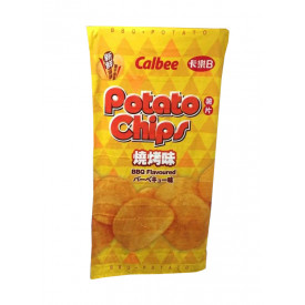 Calbee BBQ Flavoured Photo Chips Beach Towel HK Edition