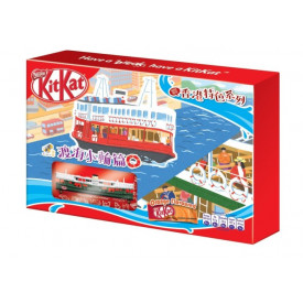 ネスレ キットカット 香港フェリーボートとショコラオレンジ