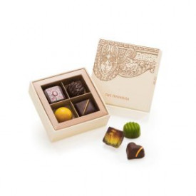 The Peninsula Hong Kong Chocolate Gift Box 4 Pieces