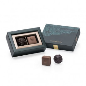 The Peninsula Hong Kong Naturally Nutty Classic and Nuts Chocolate 2 pieces