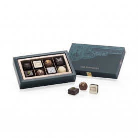 The Peninsula Hong Kong Naturally Nutty Classic and Nuts Chocolate 8 pieces