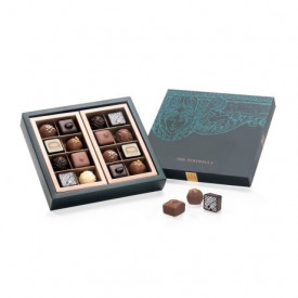 The Peninsula Hong Kong Naturally Nutty Classic and Nuts Chocolate 16 pieces